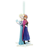 Anna and Elsa Ornament - Frozen