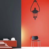 Couture Deco - The Hanging Lantern - Wall Decals