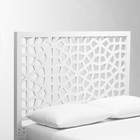 Morocco Headboard - White