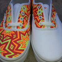 Custom Hand Painted Vans - The Original Scheme