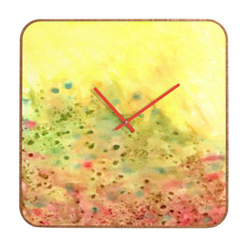 Rosie Brown Jeweled Pebbles Custom Clock