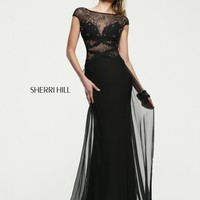 Sherri Hill 21365 Lace Evening Gown