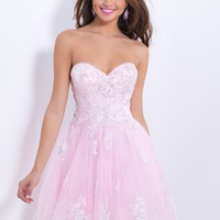 Blush Prom 9878 Pastel Party Dress