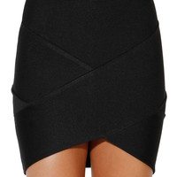 Papaya Clothing Online :: bandage mini SKIRT