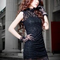 Aliexpress.com : Buy Free shipping New fashion WesternVIVI/inner cotton /lace dress/fashion dress/noble vintage/tension big from Reliable Dresses suppliers on ANNE  NEW SOUL
