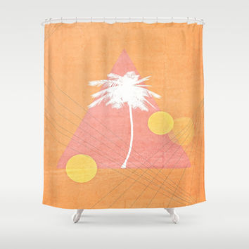 Sunset Blvd. Shower Curtain by DuckyB (Brandi)