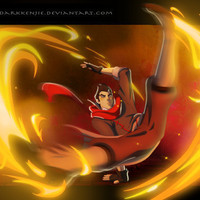 Mako Fire Bending by Darkkenjie on Etsy
