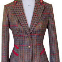 Sporting Jacket Windsor Check - Luxury Country Clothing from Holland Cooper - Tweed with a Twist