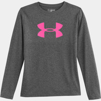 Girls' UA Tech Big Logo Long Sleeve