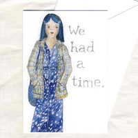My SoCalled Life card  1990s fashion Angela Chase grunge by yardia