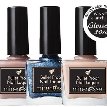 *SP Bullet Proof Nail Laquer 3 pce Collection - Ships to Australia Only - Mirenesse