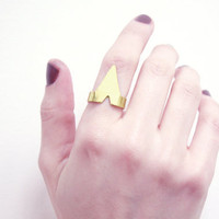 Peak Brass Ring by youngfrankk on Etsy