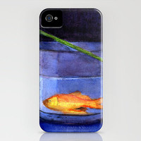 vase and fish iPhone Case by agnes Trachet | Society6