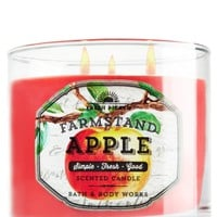 3-Wick Candle Farmstand Apple
