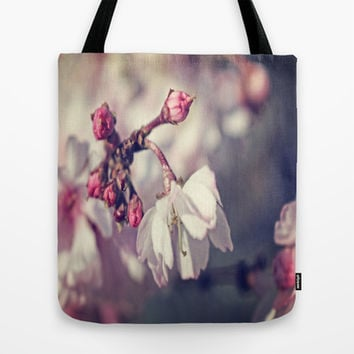 She's Shy Tote Bag by DuckyB (Brandi)