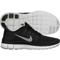 Nike Women's Free 5.0+ Running Shoe - Black/White | DICK'S Sporting Goods