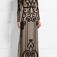 Temperley London - Catroux embroidered tulle gown
