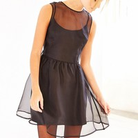 Keepsake End Of Time Silk Babydoll Dress - Urban Outfitters