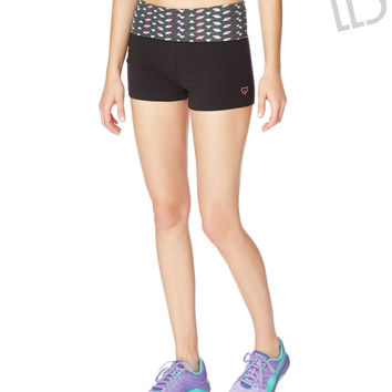LLD Triangle Fold-Over Yoga Shorts