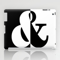 Black & White iPad Case by BeautifulHomes | Society6