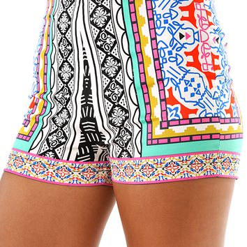 Time For Sunshine Shorts: Multi