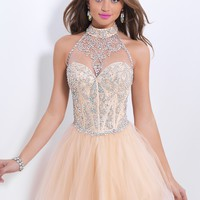 Blush Prom 9851 Beaded Cocktail Dress