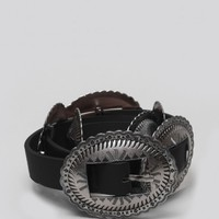 Concho Belt - Black