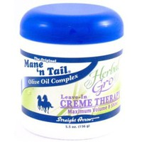 Mane 'n Tail Straight Arrow Herbal Gro Leave-In Creme Therapy -- 5.5 oz