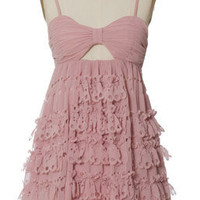 Trendy & Cute Clothing - Minuet - Torn To Threads Pink Dress - chloelovescharlie.com | $68.00