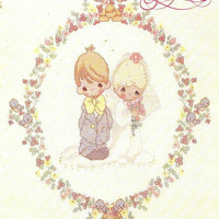 Precious Moments Wedding Book (PM-9) Designs by Gloria & Pat Cross Stitch Chart