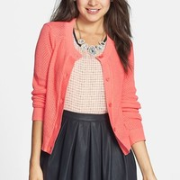 BP. Textured Cotton Cardigan (Juniors)