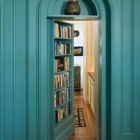 fascinated by hidden doors within a house