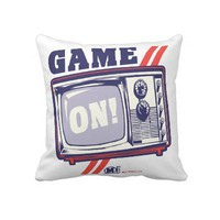 Game On Pillows from Zazzle.com