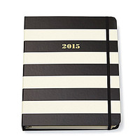 kate spade new york 2015 Large Agenda Black Stripes | Dillards.com