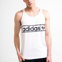 adidas Heritage Logo Tank Top - Urban Outfitters