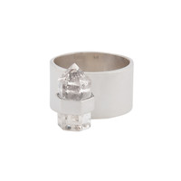 PRE ORDER stillwater ring | clear quartz | sterling silver
