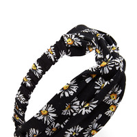 Knotted Sunflower Headwrap