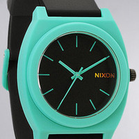 Nixon The Time Teller P Watch in Black Teal : Karmaloop.com - Global Concrete Culture