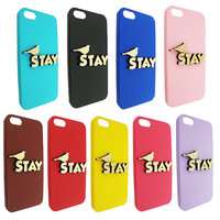 Stay 3d  Wood For Iphone 5, Iphone 4/4s