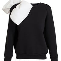 ASHISH | Jersey Sweatshirt with Bow | Browns fashion & designer clothes & clothing