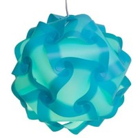 Infinity Lights - Puzzle Lamp Shade Kit (Aqua, Large)