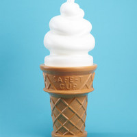 FredFlare.com - Giant Ice Cream Cone Lamp - Shop Apartment and Novelty Now