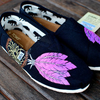 Dream Catcher TOMS shoes by BStreetShoes on Etsy