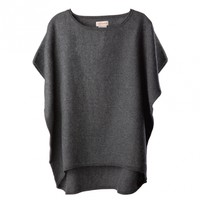 Alpaca Oversized Boxy Sweater | Cuyana Shop