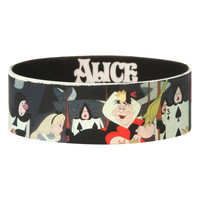 Disney Alice In Wonderland Croquet Rubber Bracelet