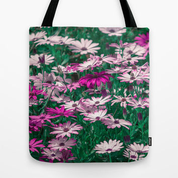 Happy Tote Bag by Loredana | Society6