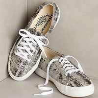 Superga Metallic Tweed Sneakers Black
