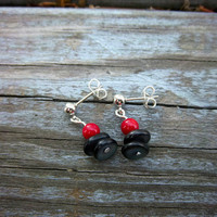 Coral and Shell Stud Earrings Christmas in July