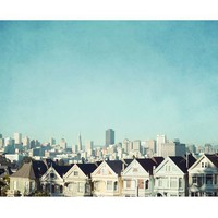 SAN FRANCISCO LOVE FRAMED PRINT BY LUPEN GRAINNE