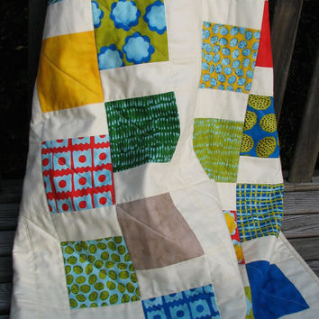 Crib Quilt, Nursery Bedding, Baby Quilt